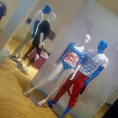 Showroom von Adidas Originals mit den Premium Produkten