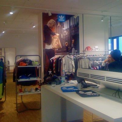 Zu Besuch bei Adidas Originals im Showroom