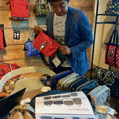 Riesige Auswahl Taschen und Geldbörsen von George Gina Lucy GG&L