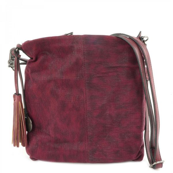 Elly - Top Zip Bag - Wine