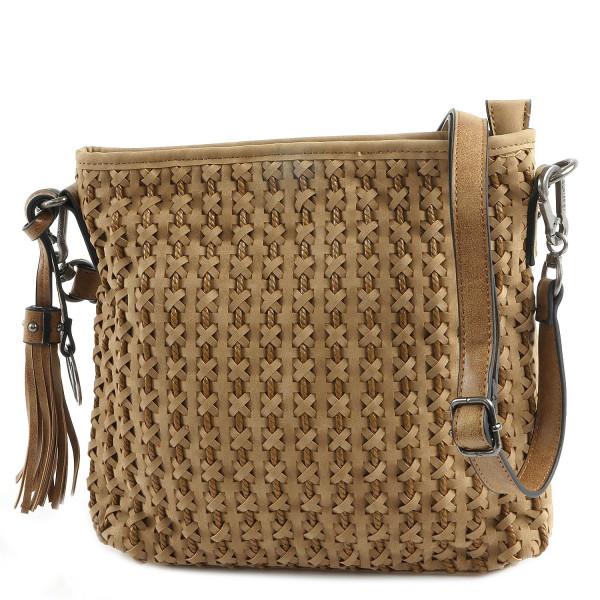Nelly - Top Zip Bag - Camel