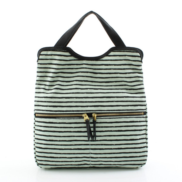 Erin Printed Tote - Mint