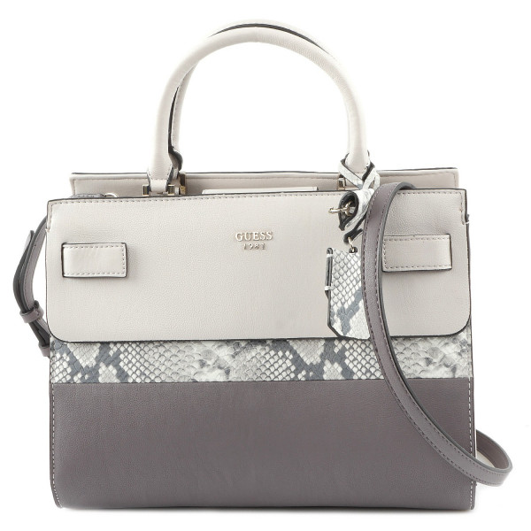 Cate - Satchel - Taupe Multi