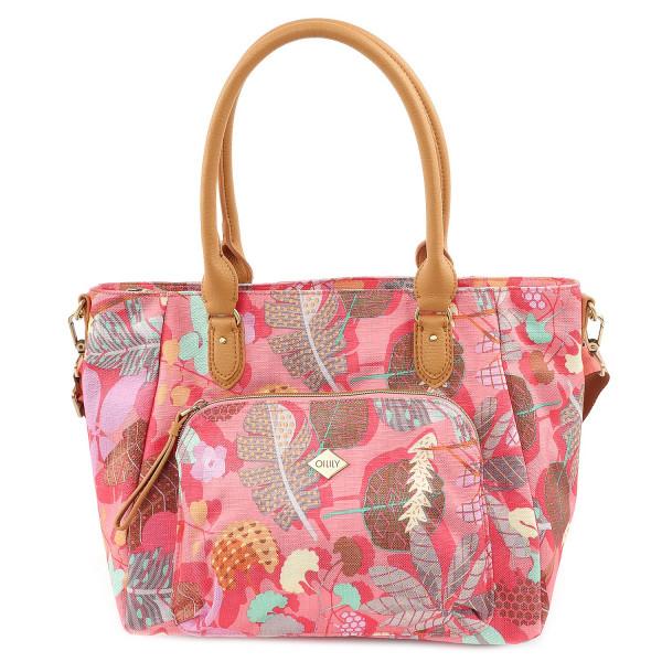 Botanic Pop M Carryall - Pink Flamingo