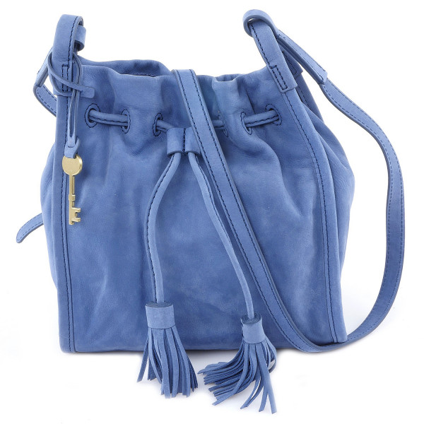 Claire Small Drawstring - Cornflower