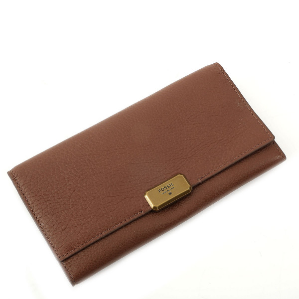 Emerson Flap Clutch - Brown