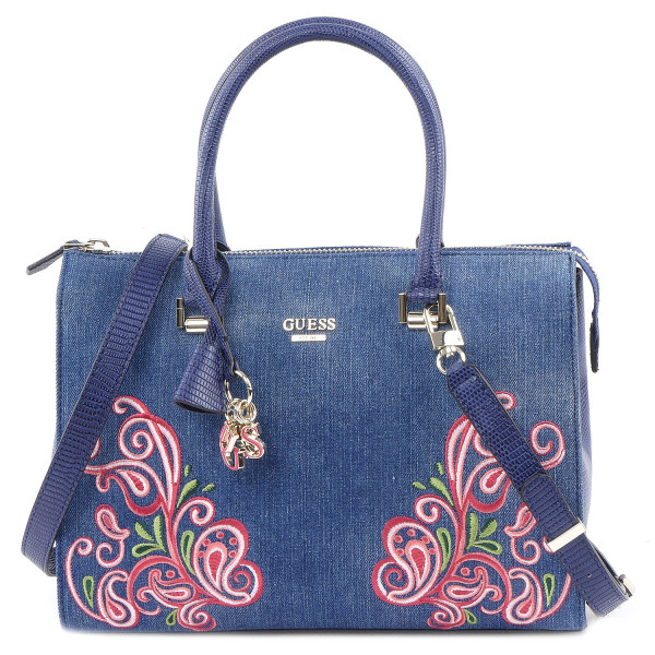 Arianna - Box Satchel - Denim