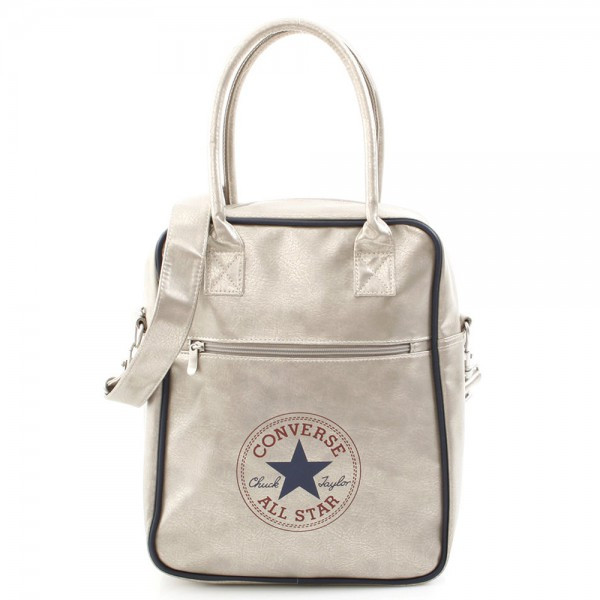 Retro Shopper Bag Antique Silver