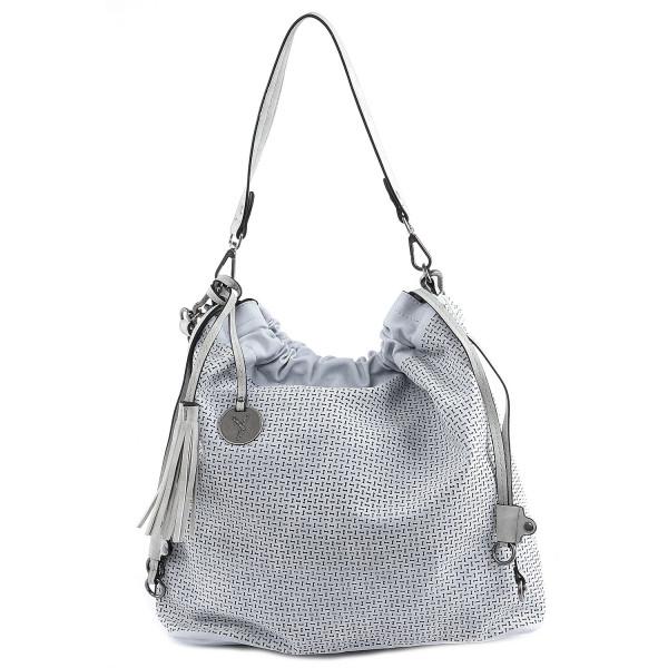 Izzy - L Hobo Bag - Light Blue