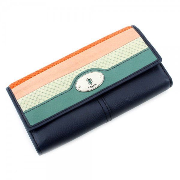 Marlow Patchwork Clutch - Multicolor