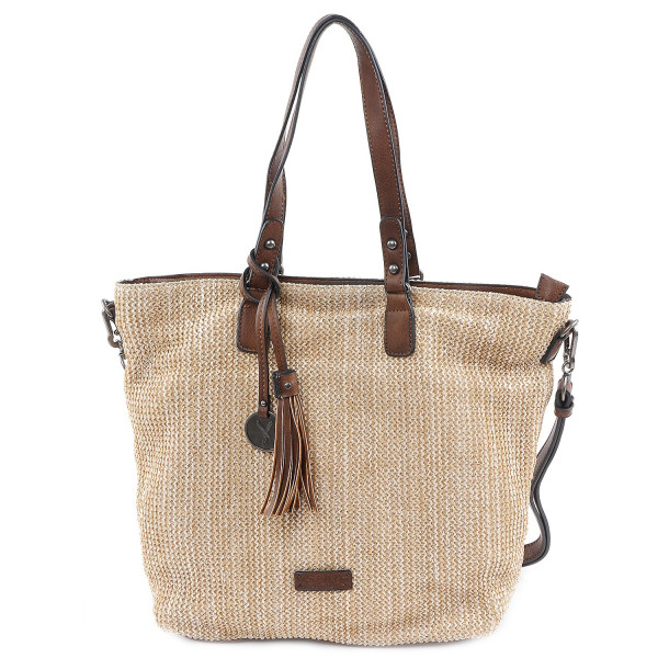 Phoeby - L Shopper - Camel