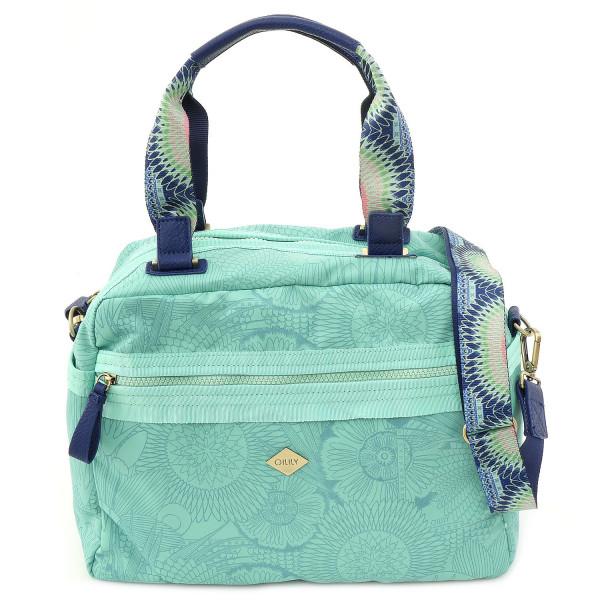 Spiro Lines - City Handbag - Mint Leaf