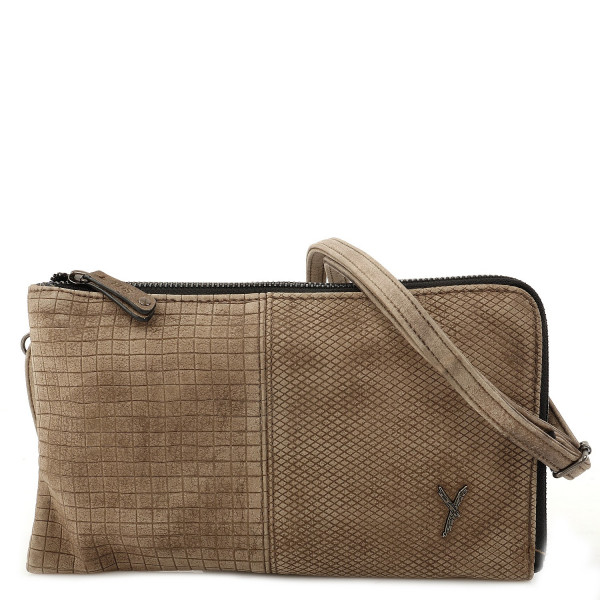 Peggy Clutch - Taupe