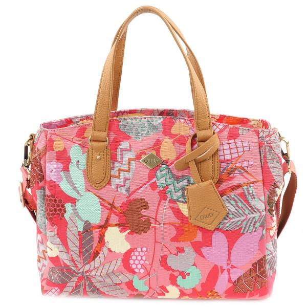 Botanic Pop Handbag - Pink Flamingo