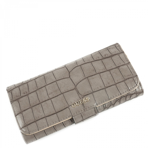 Frankee - File Clutch - Taupe