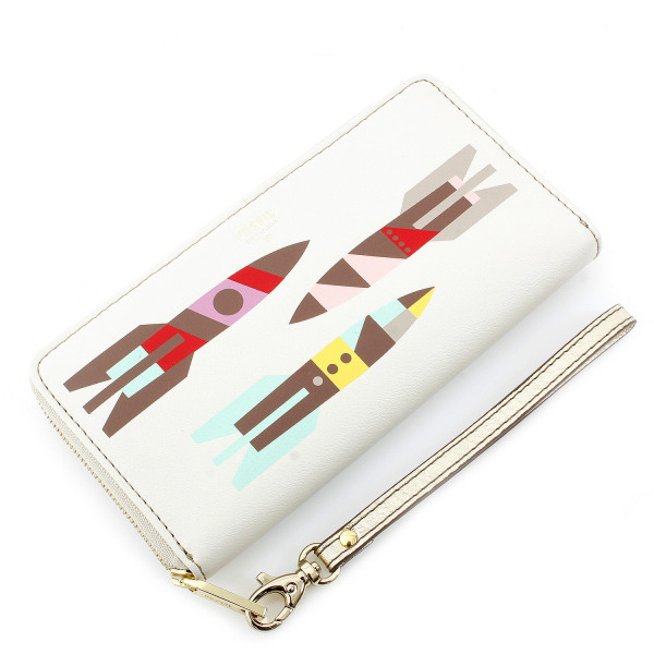 Giftable Rocket Zip Clutch - Multi