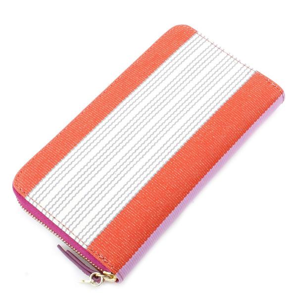 Key-Per Zip Clutch - Stripe