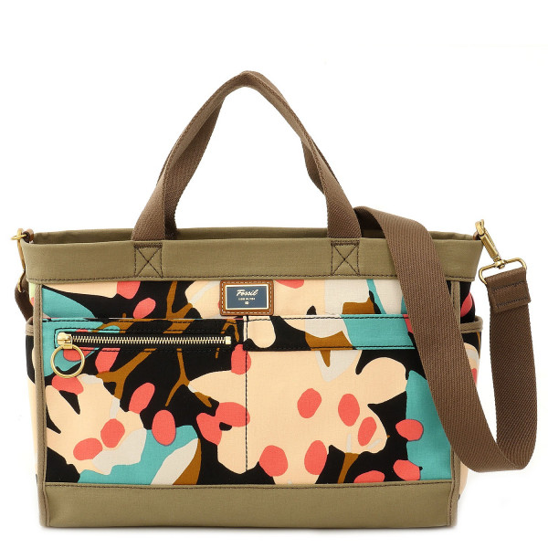 Passport - Satchel - Dark Floral
