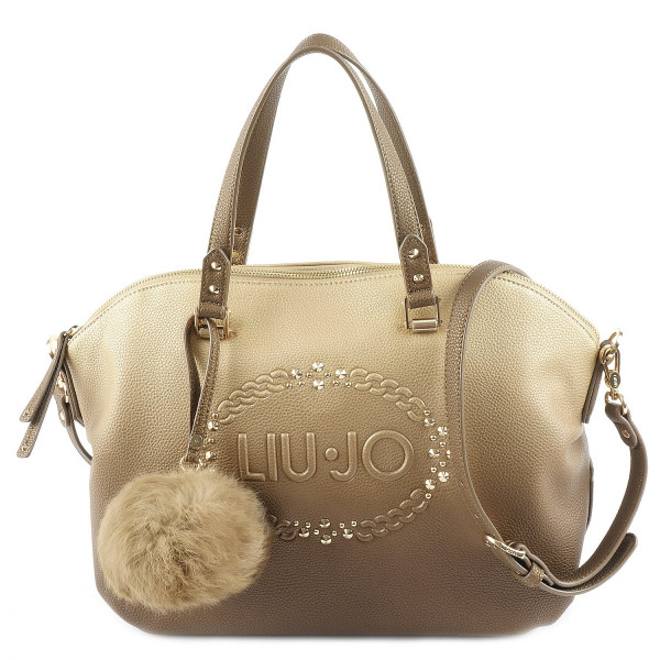 Bauletto Logo Lucciola  - Gold / Light Gold