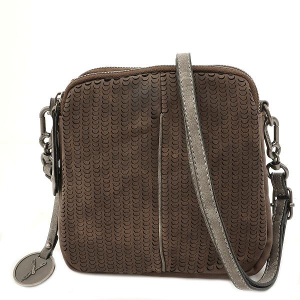 Ruby Top Zip Bag - Brown