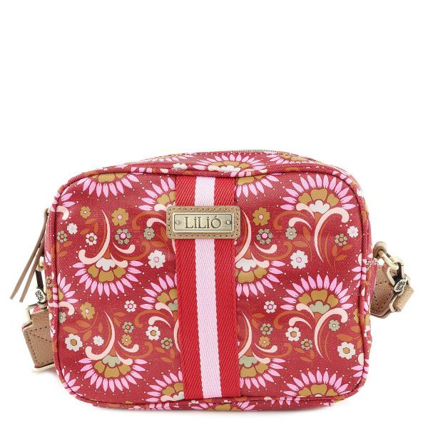Rahakott S Square Shoulder Bag - Carmine