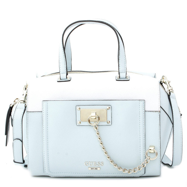 Forget Me Not - Paxton Satchel - Ice Blue