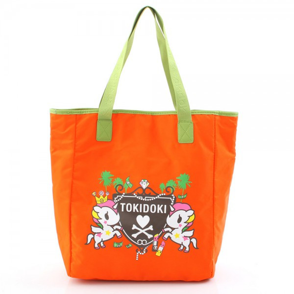 Koyuki Shopper - Orange/Green