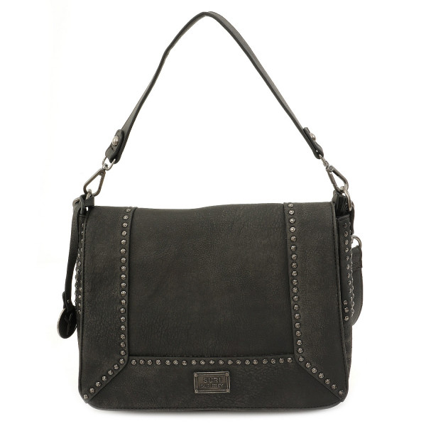 Gipsy L Flap Bag - Black