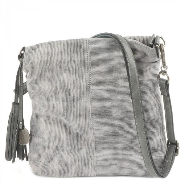 Elly - Top Zip Bag - Grey