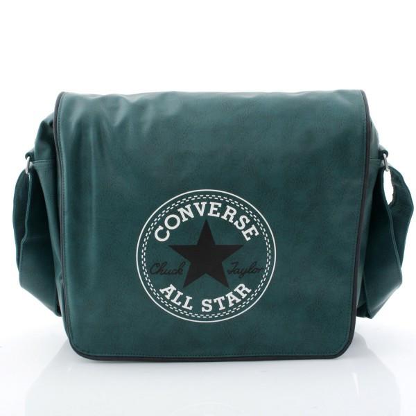 Retro Flap Bag Laptop - Medium Green