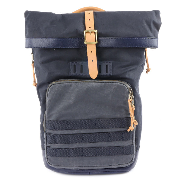 Defender Roll Backpack - Blue