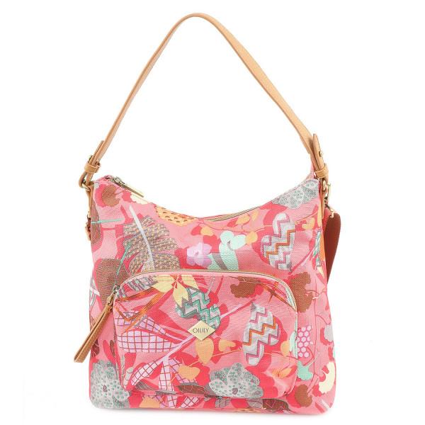 Botanic Pop M Shoulder Bag - Pink Flamingo