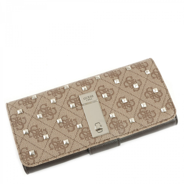 Nissana - File Clutch - Brown