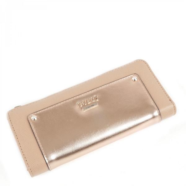 Cool Mix - Slim Zip Wallet - Rose Gold
