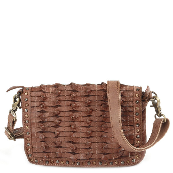 Cow Tangle - S Shoulderbag - Cognac