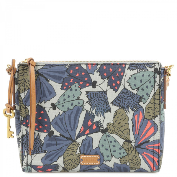 Emma Crossbody - Grey Multi