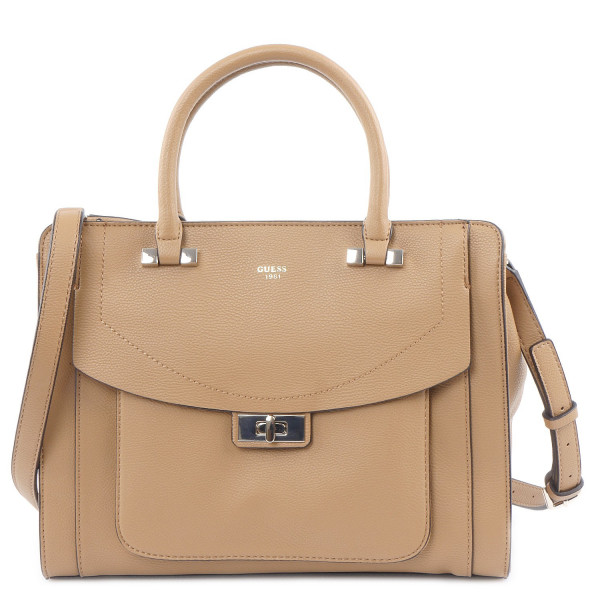 Kingsley - Girlfriend Satchel - Tan