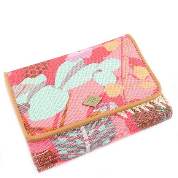 Botanic Pop S Wallet - Pink Flamingo