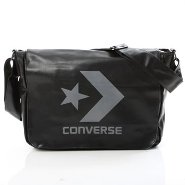Chevron Shoulder Bag Laptop - Schwarz