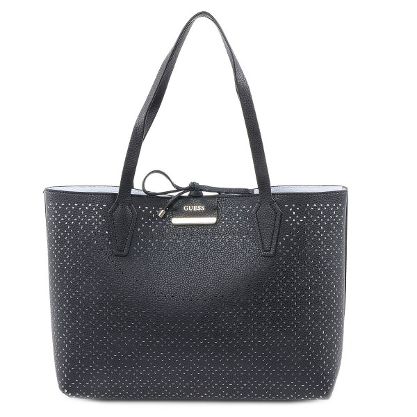 Bobbi - Inside Out Tote - Black White