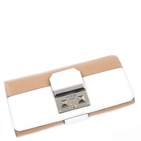 Martine - File Clutch - Tan Multi