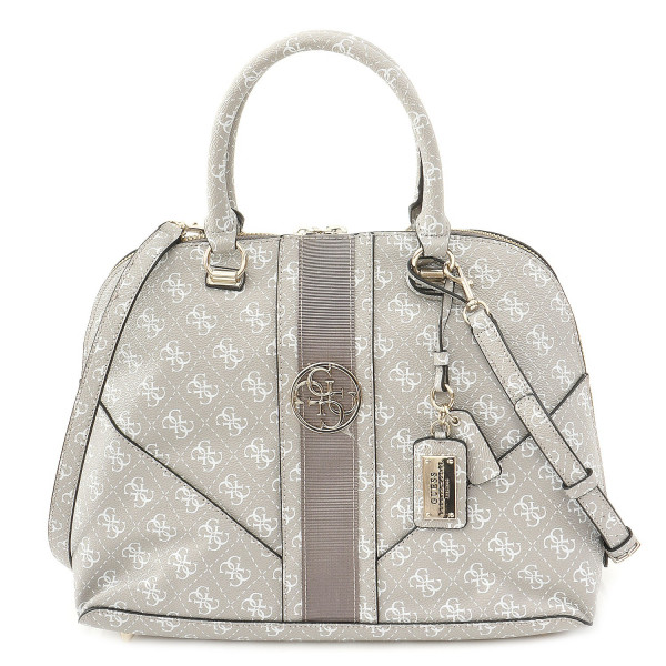 Lena - Large Dome Satchel - Dove