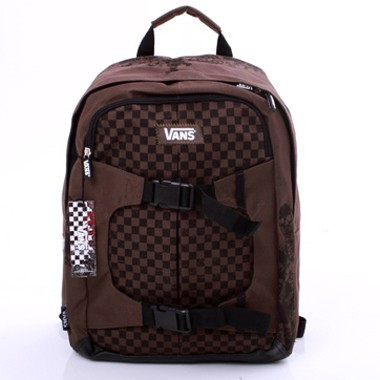 Checkerboard Backpack - Braun