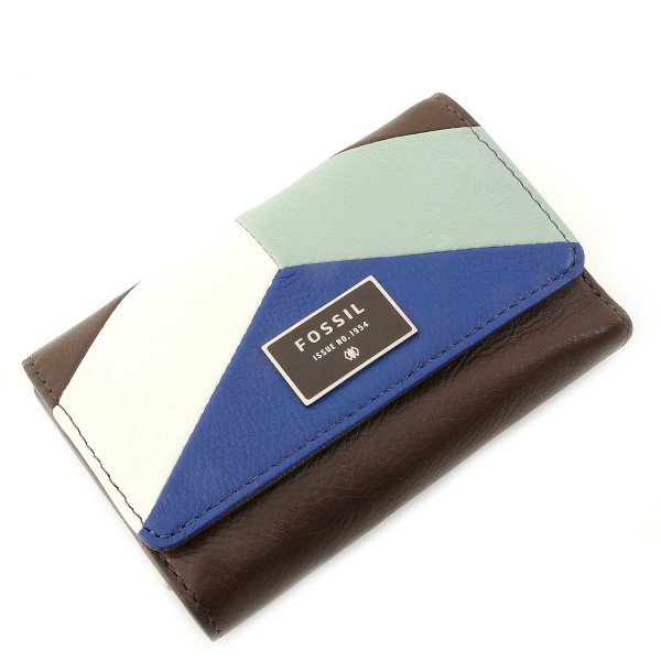 Dawson Leather Colorblock - Multifunction - Blue Multi