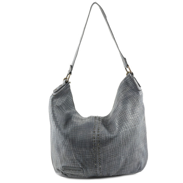 Cow Laser Cut - Hobo Bag - Stone