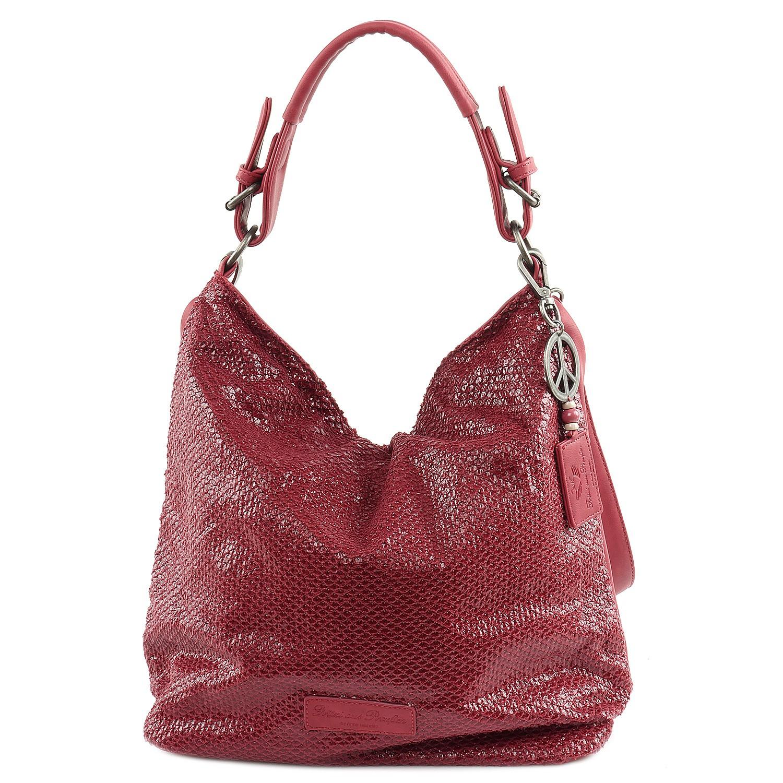 Fritzi aus Preußen Handtasche Salome SheenNubuck Red