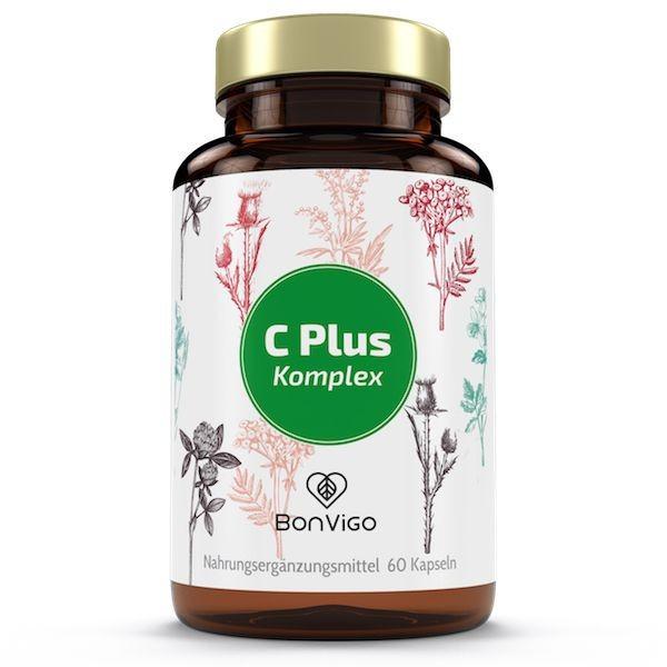 C Plus - Natürliches Vitamin C hochdosiert Camu Camu und Acerola