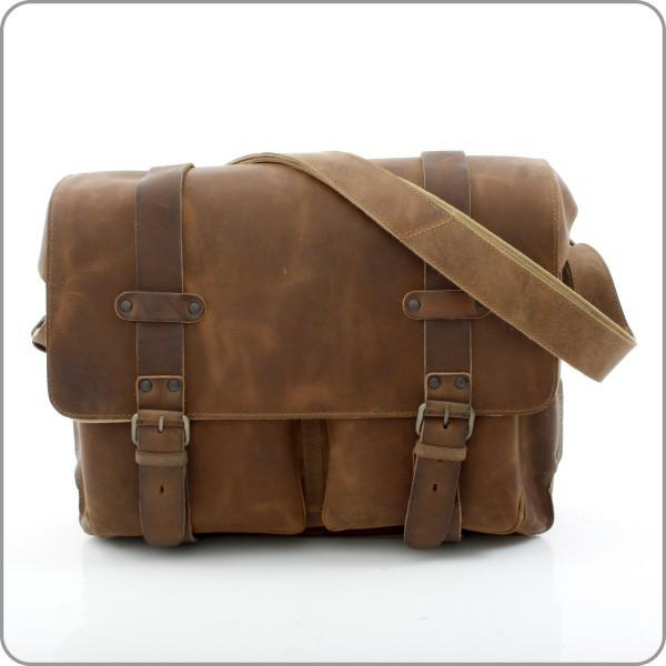Hunter - Dan Laptop - Vintage Tan