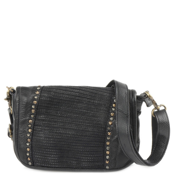 Cow Striped - S Shoulderbag - Anthrazit