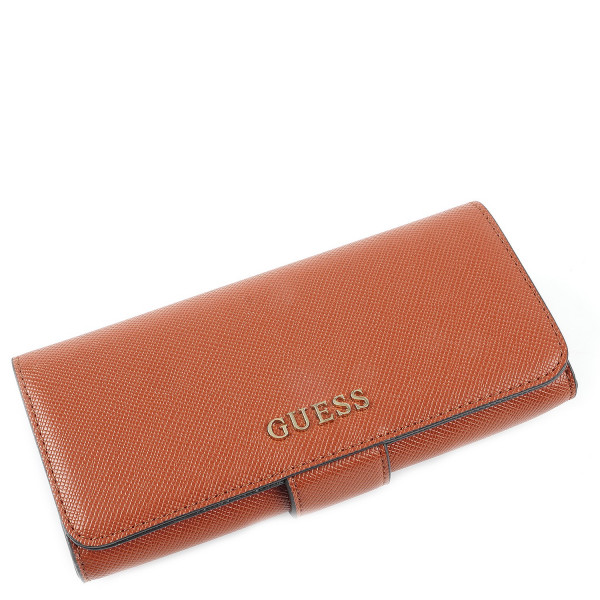 Aria - File Clutch - Cognac